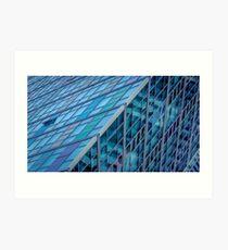Diagonals in Architecture Art Print