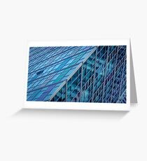 Diagonals in Architecture Greeting Card