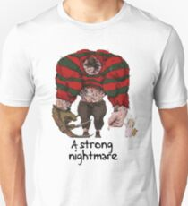 A strong Freddy Krueger Unisex T-Shirt