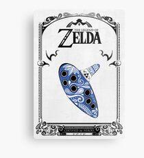 Zelda legend - Ocarina doodle Metal Print