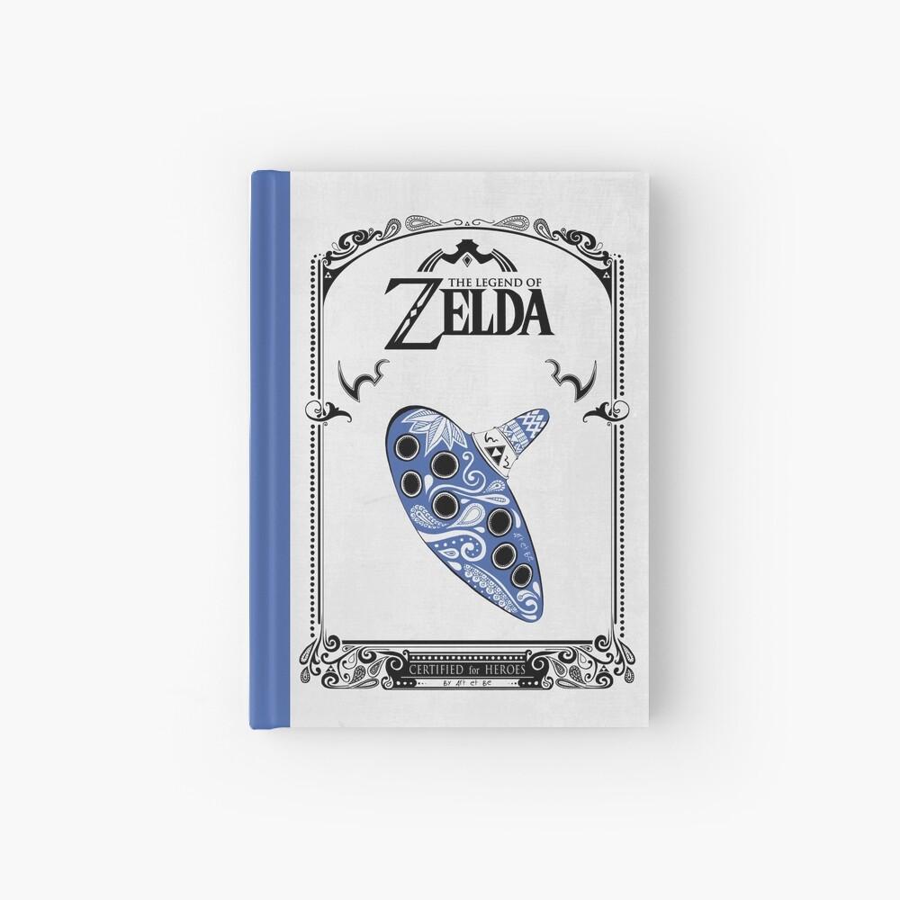 Zelda legend - Ocarina doodle Cuaderno de tapa dura