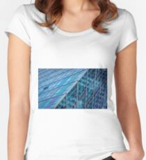 Diagonals in Architecture Women's Fitted Scoop T-Shirt