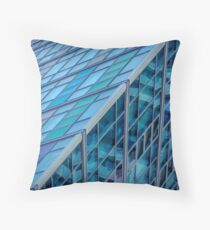 Diagonals in Architecture Throw Pillow