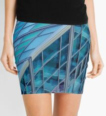 Diagonals in Architecture Mini Skirt