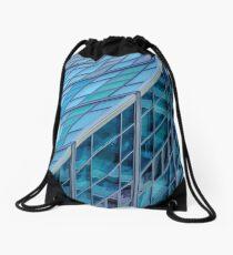 Diagonals in Architecture Drawstring Bag