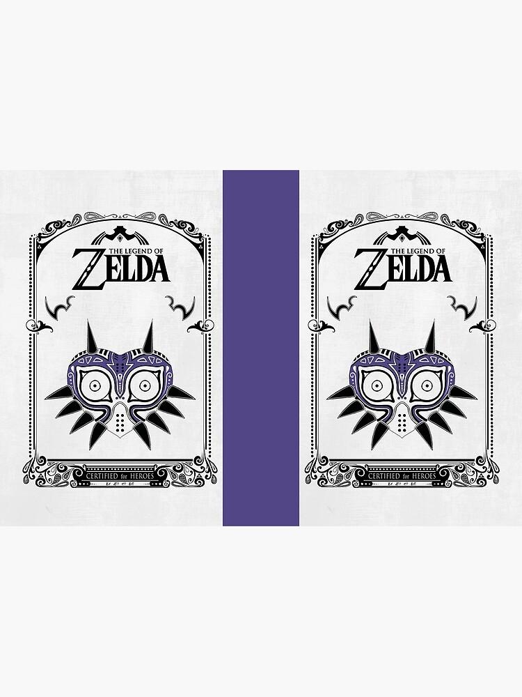 Zelda Legend - Doodle de la máscara de Majora de artetbe