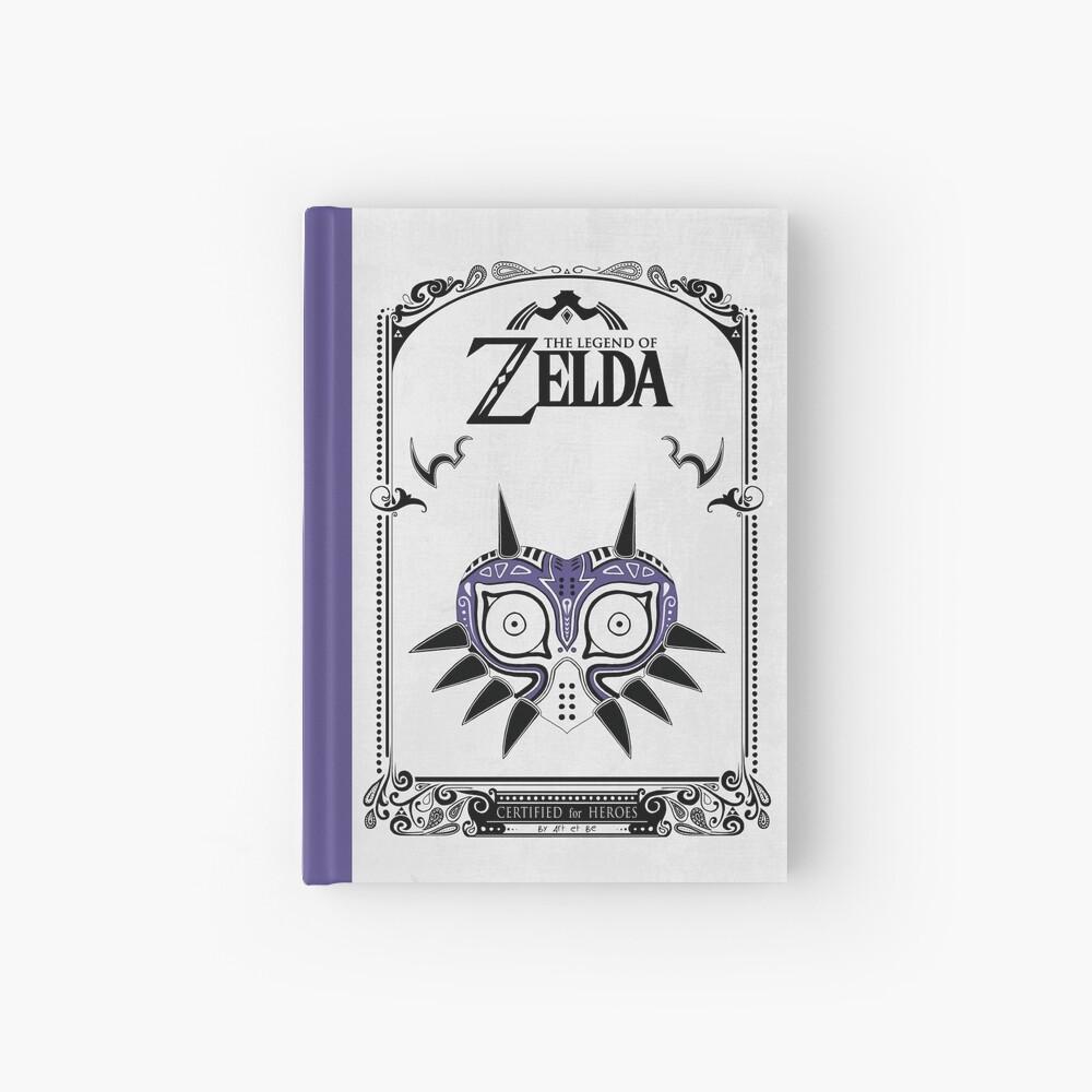 Zelda Legend - Doodle de la máscara de Majora Cuaderno de tapa dura