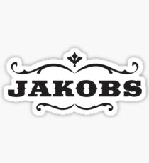 Jackobs Logo Sticker