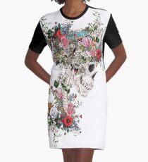 Skull Queen Graphic T-Shirt Dress