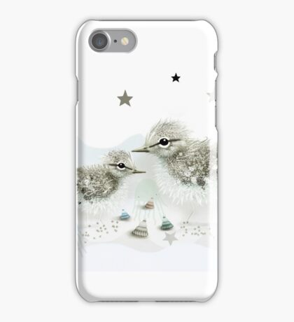 Sandpipers iPhone Case/Skin