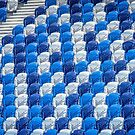 Empty Stands for Swimming Training by sjphotocomau