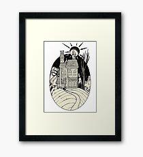 Haunted Mansion. Framed Print