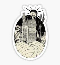 Haunted Mansion. Sticker