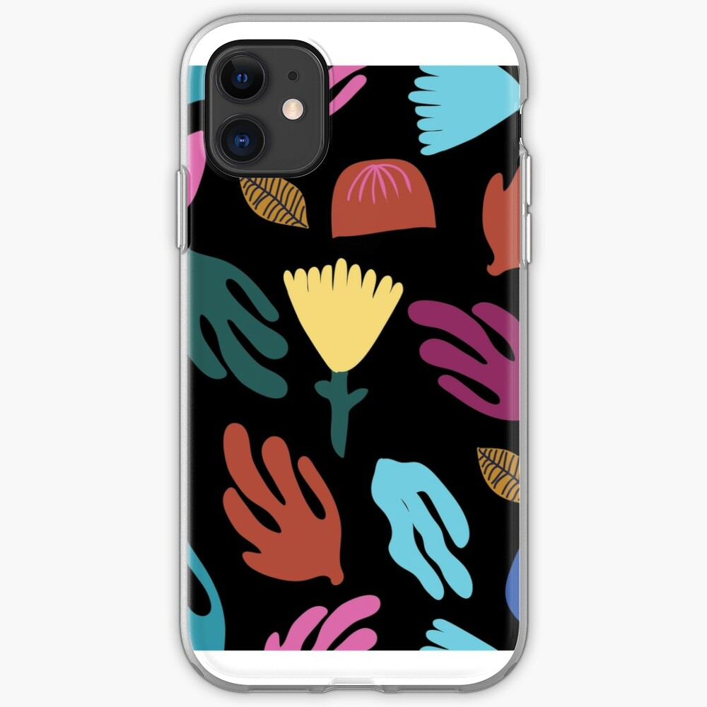 Midnight garden iPhone Soft Case