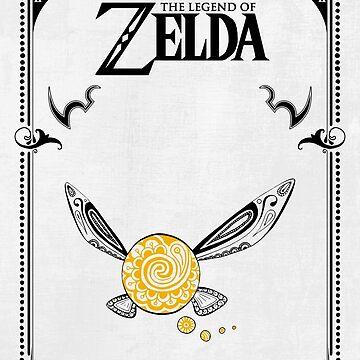 Zelda legend - Fairy Navi doodle de artetbe