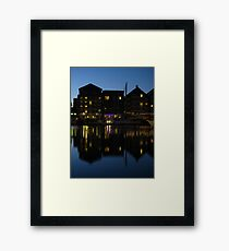 Night time at the Salthouse Hotel, Ipswich Framed Print