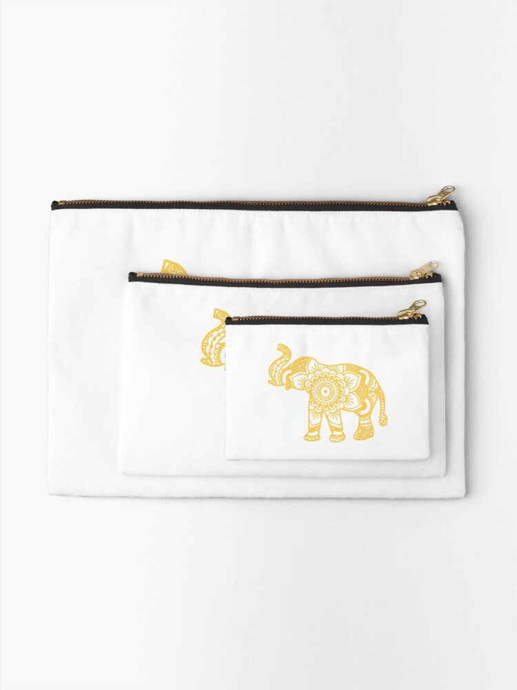 Vista alternativa de Bolsos de mano Mandala Elephant Yellow