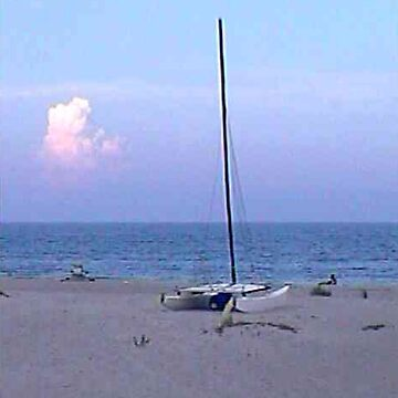 Sailboat 2004 Cocoa Beach jGibney 2010 Signature The MUSEUM Zazzle Gifts RedBubble by TheMUSEUM