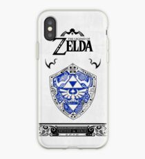Vinilo o funda para iPhone Zelda legend - Link Shield Doodle