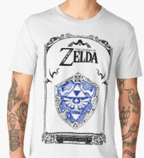 Zelda legend - Link Shield doodle Men's Premium T-Shirt