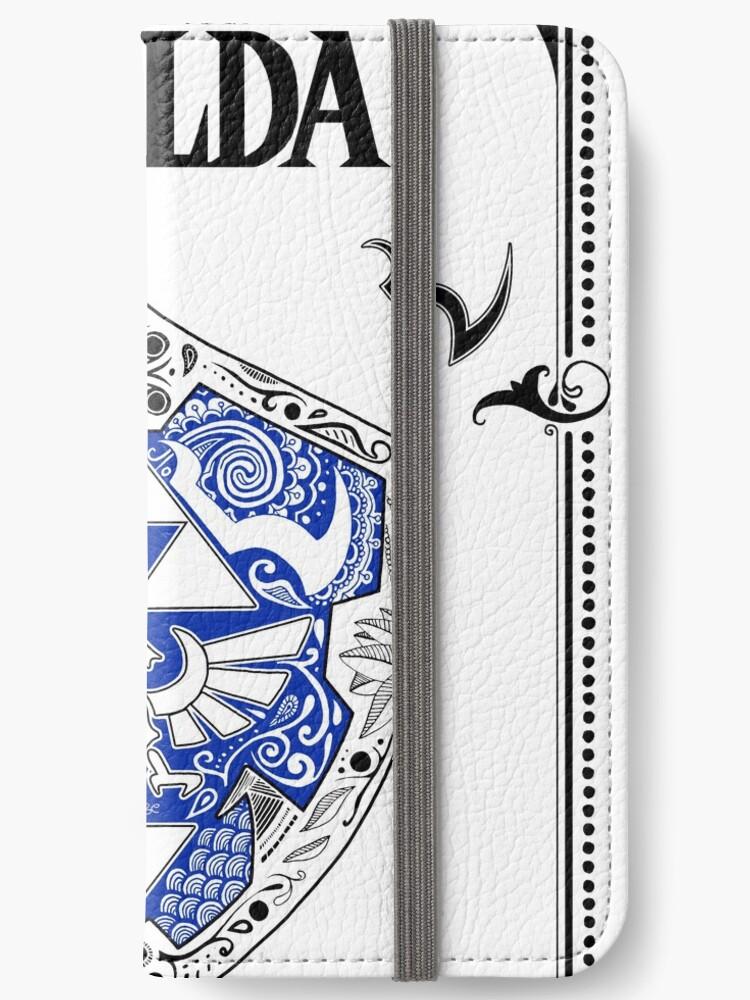 Zelda legend Link Shield doodle 3 iphone case