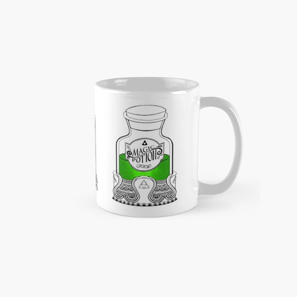 Leyenda de zelda - poción verde Tazas