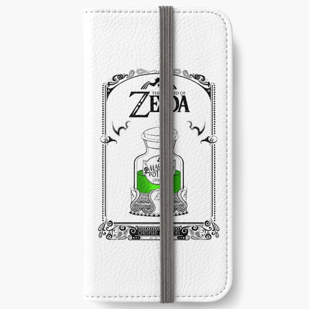 Leyenda de zelda - poción verde Fundas tarjetero para iPhone