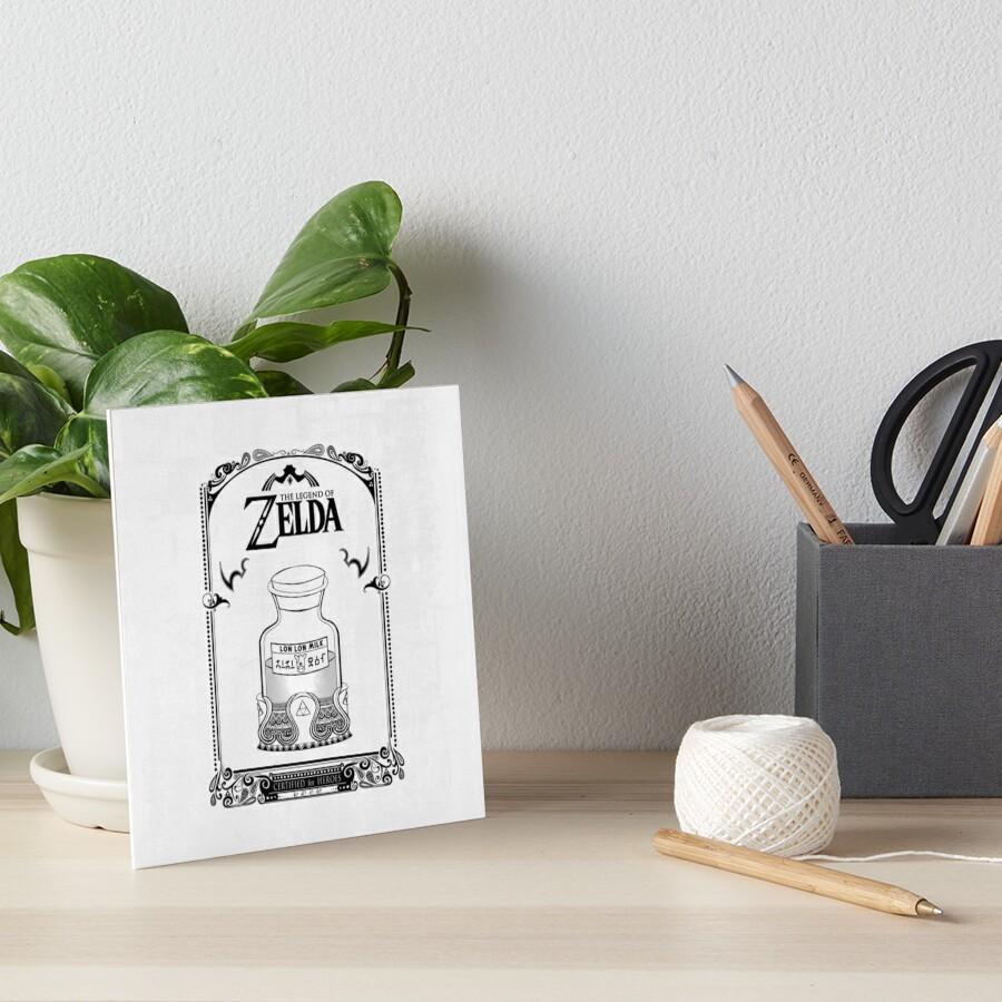 Leyenda de Zelda - Lon Lon Milk Lámina rígida