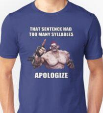 Herr Torgue Zitat Slim Fit T-Shirt