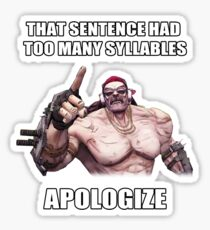Mr.Torgue Quote Sticker