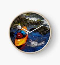 CANOE THE FALLS Clock