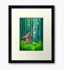 Hidden Cottage Framed Print