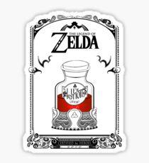 Zelda Legende - Roter Trank Sticker