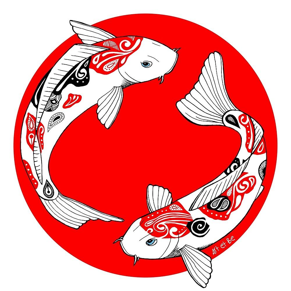 «koi japonés» de artetbe