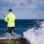 Fishing On The Edge by reflector