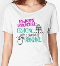 Die heutige Vorhersage Cruising mit einer Chance zu trinken Loose Fit T-Shirt