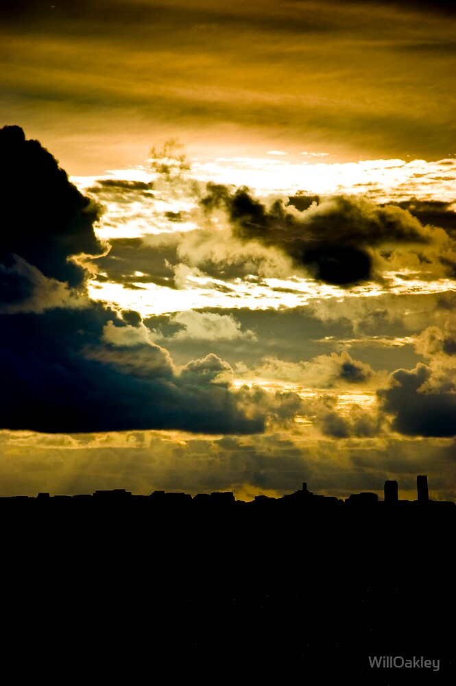 Industrial Sky by WillOakley