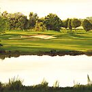 The ninth  at Las Martines by Phillip  McCordall