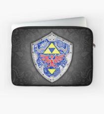 Zelda - Link Shield doodle Laptop Sleeve