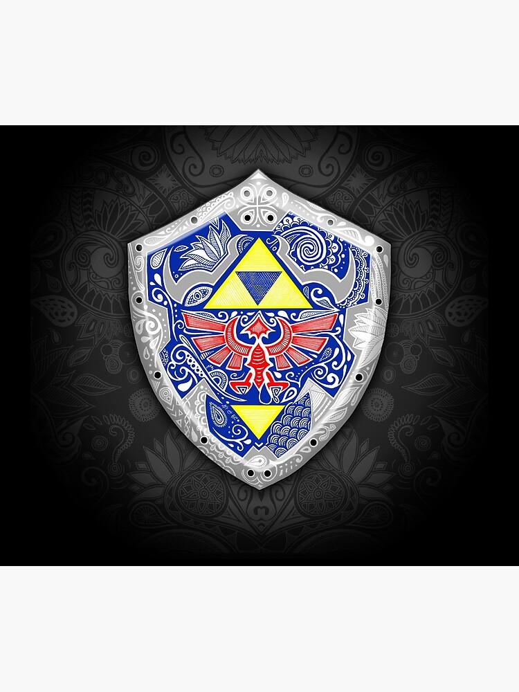 Zelda - Link Shield Doodle de artetbe