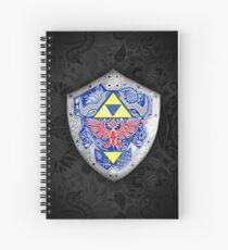 Zelda - Link Shield Doodle Cuaderno de espiral