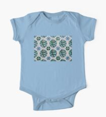 Painted Patterns - Azulejo Tiles in Blue and Green Kids Clothes