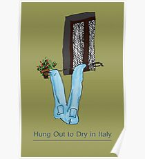 Hung out to dry in Italy Poster
