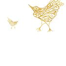 Gold Birds by KazM
