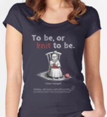 Oma Hempel - To be, or knit to be. Tailliertes Rundhals-Shirt