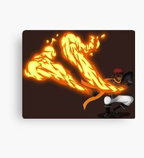 D.GRAY-MAN Lavi Firebender Canvas Print