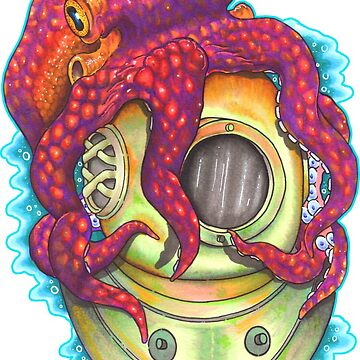 Tattoo Octopus by mfdeshonga