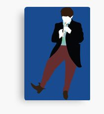 The Second Doctor - Doctor Who - Patrick Troughton Canvas Print