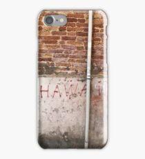 Hawaii Art iPhone Case/Skin