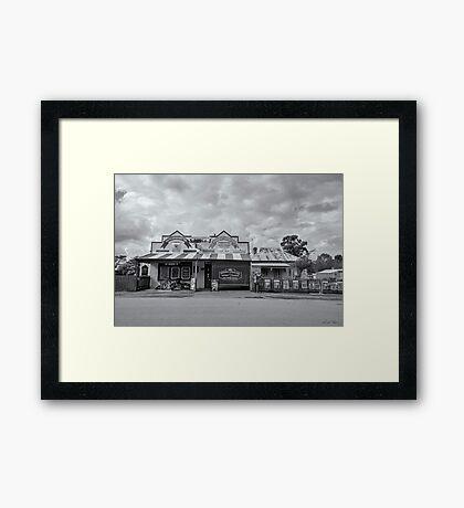 Monegeetta General Store Framed Print